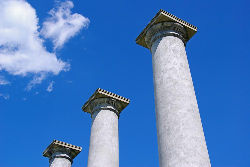 are you balancing the pillars